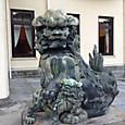庭園美術館の狛犬さん(美術風?)
