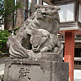 奥氷川神社うん(子犬つき)