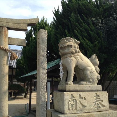 直島の狛さん